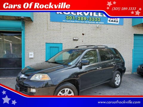 2006 Acura MDX for sale at Cars Of Rockville in Rockville MD