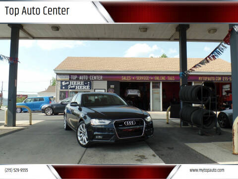 2013 Audi A4 for sale at Top Auto Center in Quakertown PA