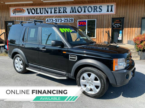 2008 Land Rover LR3 for sale at Kerwin's Volunteer Motors in Bristol TN