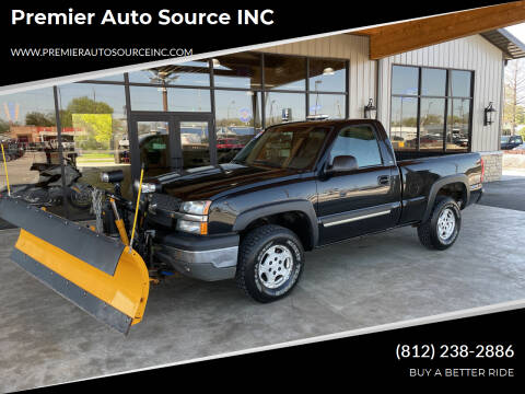 2003 Chevrolet Silverado 1500 for sale at Premier Auto Source INC in Terre Haute IN