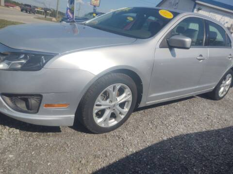 2012 Ford Fusion for sale at Mr E's Auto Sales in Lima OH