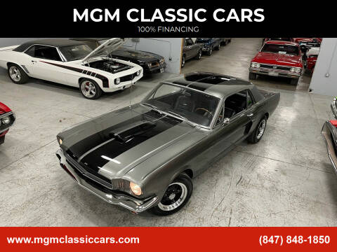 1965 Ford Mustang for sale at MGM CLASSIC CARS in Addison, IL
