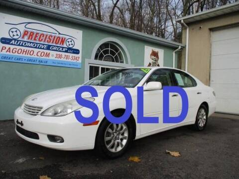 2002 Lexus ES 300 for sale at Precision Automotive Group in Youngstown OH