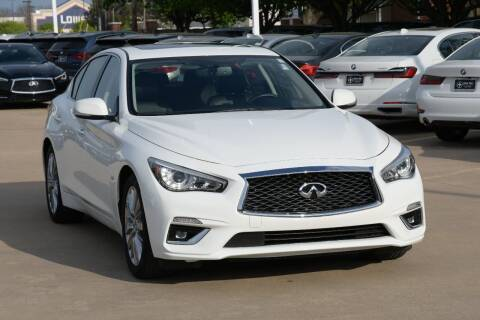 2020 Infiniti Q50 for sale at Silver Star Motorcars in Dallas TX