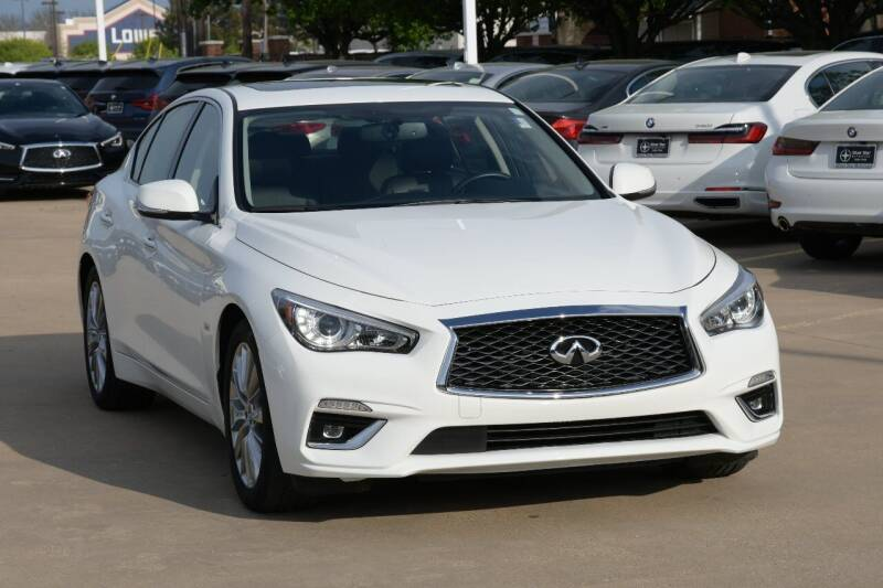 2020 Infiniti Q50 for sale at Silver Star Motorcars in Dallas TX