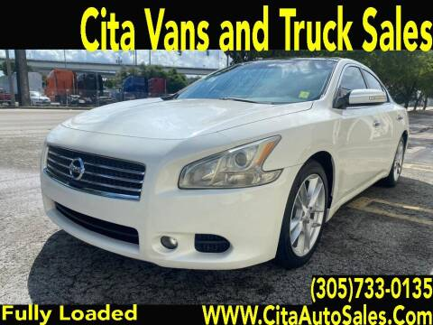 2011 Nissan Maxima for sale at Cita Auto Sales in Medley FL