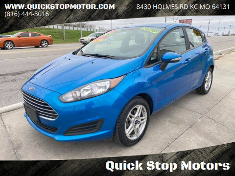 2017 Ford Fiesta for sale at Quick Stop Motors in Kansas City MO