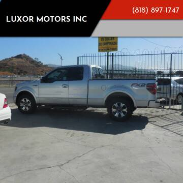 2014 Ford F-150 for sale at Luxor Motors Inc in Pacoima CA