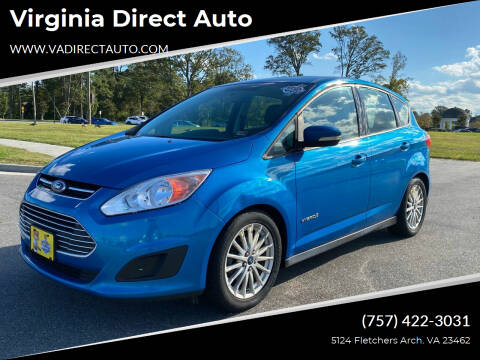 2013 Ford C-MAX Hybrid for sale at Virginia Direct Auto in Virginia Beach VA