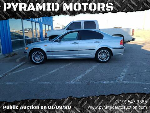 2003 BMW 3 Series for sale at PYRAMID MOTORS - Pueblo Lot in Pueblo CO