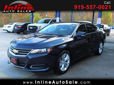 2014 Chevrolet Impala for sale at Inline Auto Sales in Fuquay Varina NC