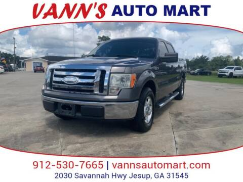 2009 Ford F-150 for sale at VANN'S AUTO MART in Jesup GA