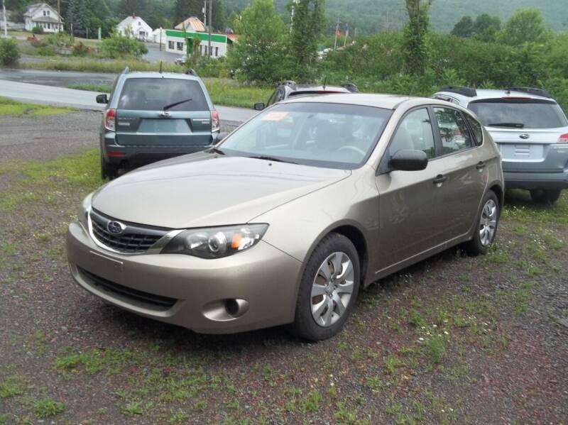 2008 Subaru Impreza for sale at Warner's Auto Body of Granville Inc in Granville NY