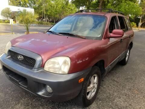 2002 Hyundai Santa Fe for sale at Low Price Auto Sales LLC in Palm Harbor FL