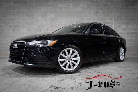 2014 Audi A6 for sale at J-Rus Inc. in Macomb MI