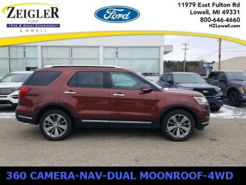 2018 Ford Explorer for sale at Zeigler Ford of Plainwell- Jeff Bishop in Plainwell MI