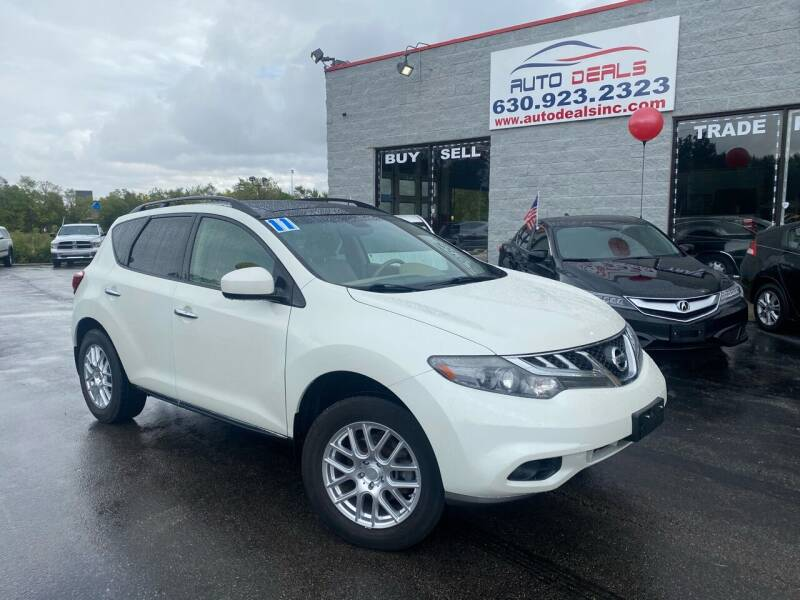 2011 Nissan Murano for sale at Auto Deals in Roselle IL