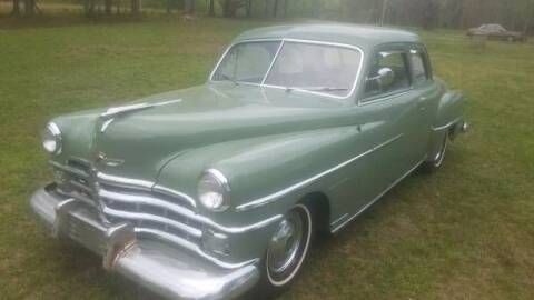1950 Chrysler Windsor for sale at Classic Car Deals in Cadillac MI