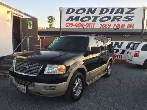 2006 Ford Expedition for sale at DON DIAZ MOTORS in San Diego CA