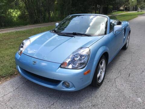2003 Toyota MR2 Spyder for sale at P J Auto Trading Inc in Orlando FL