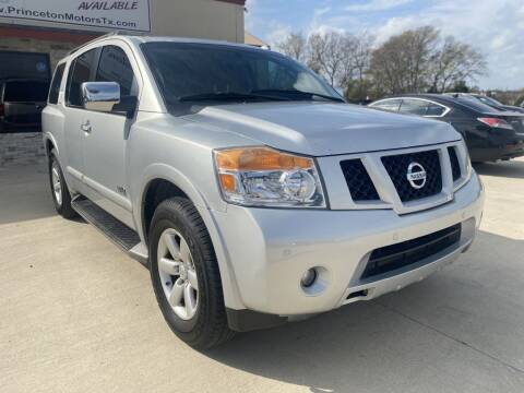 2008 Nissan Armada for sale at Princeton Motors in Princeton TX