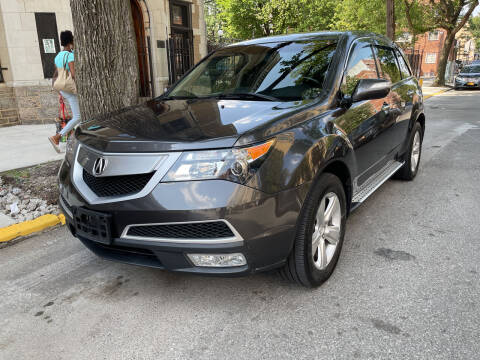 2012 Acura MDX for sale at Gallery Auto Sales in Bronx NY