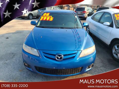 2006 Mazda MAZDA6 for sale at MAUS MOTORS in Hazel Crest IL