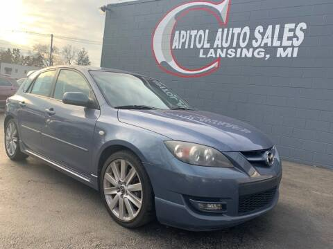 2007 Mazda MAZDASPEED3 for sale at Capitol Auto Sales in Lansing MI