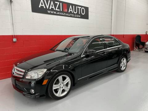 2010 Mercedes-Benz C-Class for sale at AVAZI AUTO GROUP LLC in Gaithersburg MD