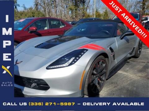 2017 Chevrolet Corvette for sale at Impex Auto Sales in Greensboro NC