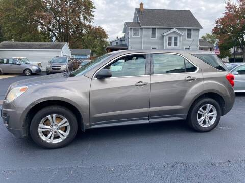 2010 Chevrolet Equinox for sale at E & A Auto Sales in Warren OH
