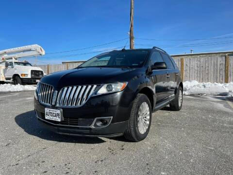 2012 Lincoln MKX for sale at Auto Cape in Hyannis MA