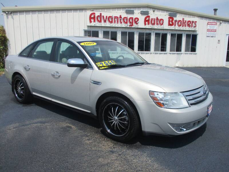 2009 Ford Taurus for sale at Advantage Auto Brokers Inc in Greeley CO