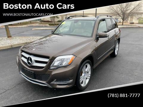 2014 Mercedes-Benz GLK for sale at Boston Auto Cars in Dedham MA