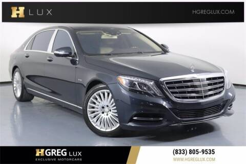 2016 Mercedes-Benz S-Class for sale at HGREG LUX EXCLUSIVE MOTORCARS in Pompano Beach FL