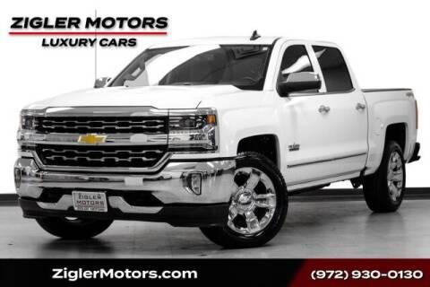 2018 Chevrolet Silverado 1500 for sale at Zigler Motors in Addison TX