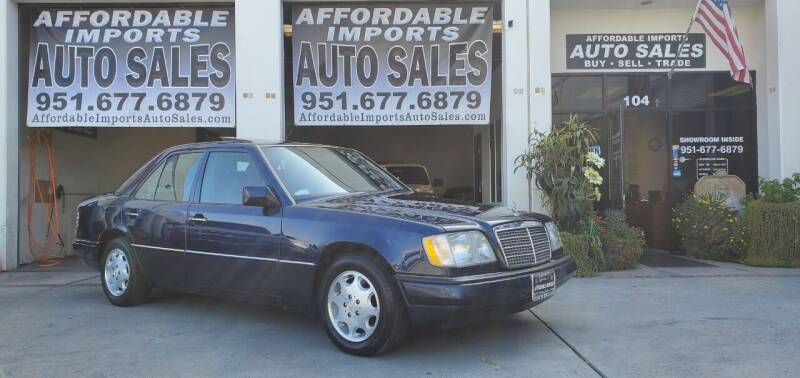 1995 Mercedes-Benz E-Class for sale at Affordable Imports Auto Sales in Murrieta CA
