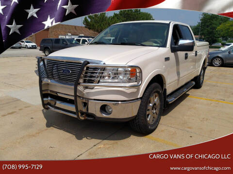 2007 Ford F-150 for sale at Cargo Vans of Chicago LLC in Mokena IL