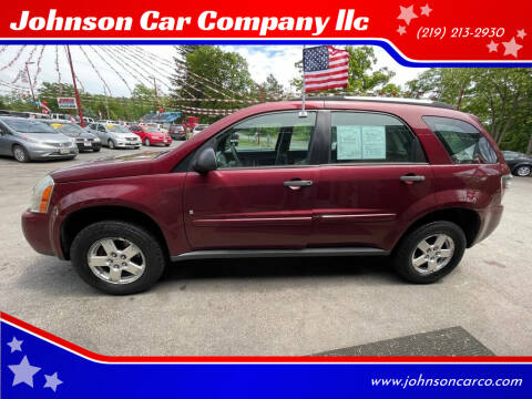2007 Chevrolet Equinox for sale at Johnson Car Company llc in Crown Point IN