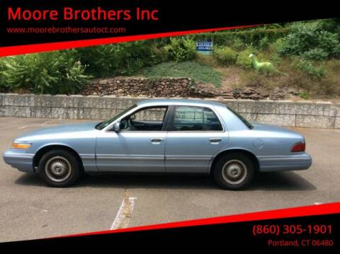 1997 Mercury Grand Marquis for sale at Moore Brothers Inc in Portland CT