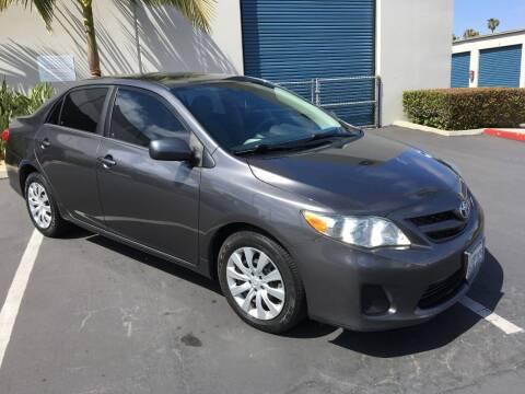 2012 Toyota Corolla for sale at MANGIONE MOTORS ORANGE COUNTY in Costa Mesa CA