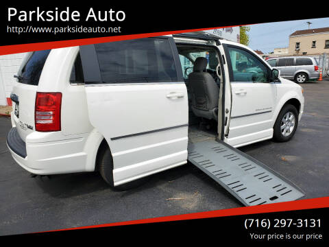 2010 Chrysler Town and Country for sale at Parkside Auto in Niagra Falls NY
