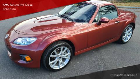 2013 Mazda MX-5 Miata for sale at AMG Automotive Group in Cumming GA