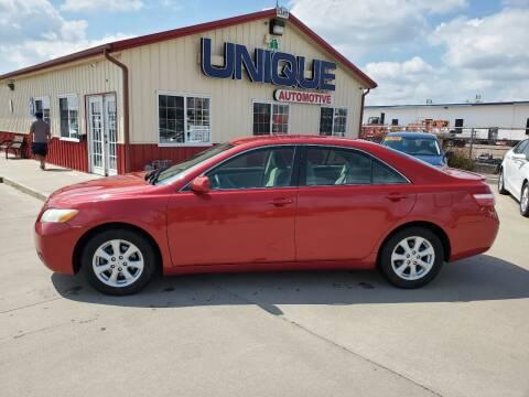 "2009 Toyota Camry for sale at UNIQUE AUTOMOTIVE ""BE UNIQUE"" in Garden City KS"