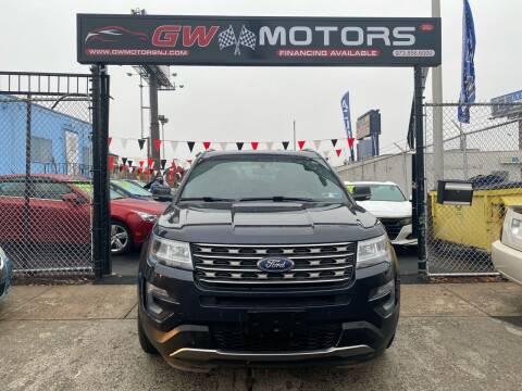 2017 Ford Explorer for sale at GW MOTORS in Newark NJ