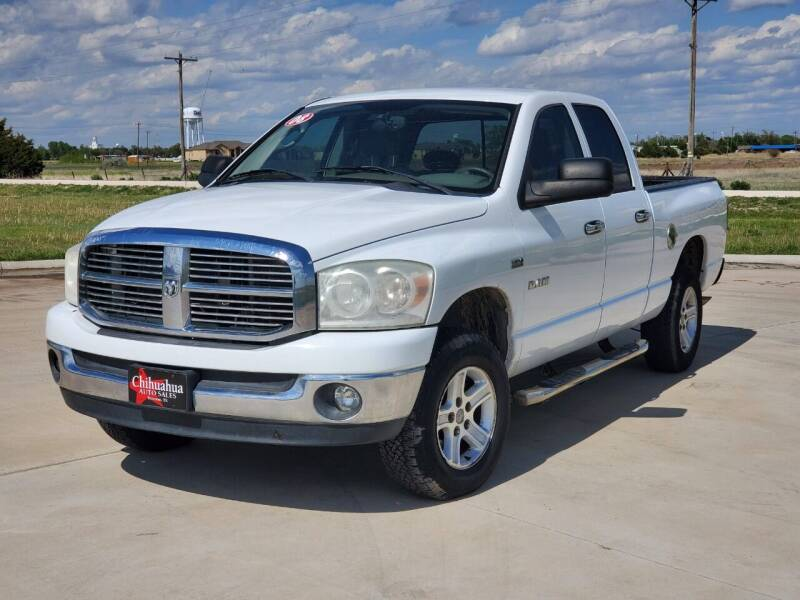 2008 Dodge Ram Pickup 1500 for sale at Chihuahua Auto Sales in Perryton TX