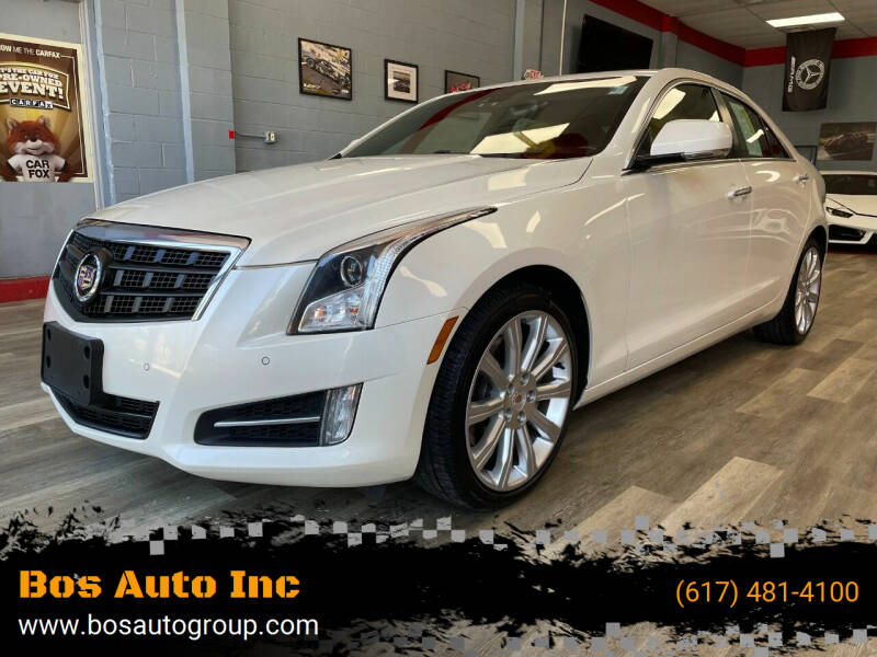 2013 Cadillac ATS for sale at Bos Auto Inc in Quincy MA