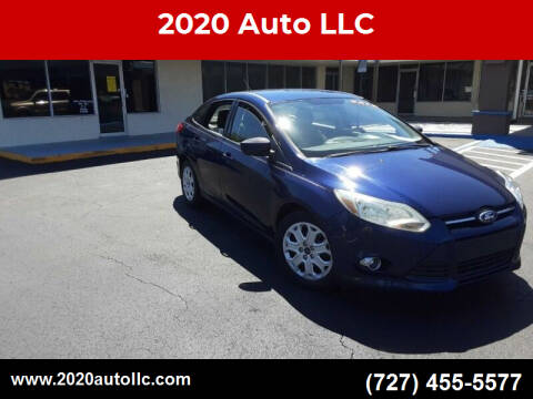 2012 Ford Focus for sale at 2020 AUTO LLC in Clearwater FL