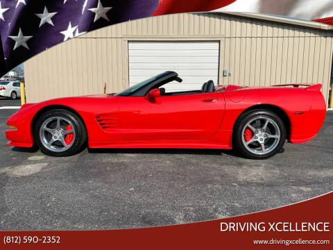 2001 Chevrolet Corvette for sale at Driving Xcellence in Jeffersonville IN