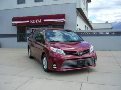 2020 Toyota Sienna for sale at Royal Auto Inc in Murray UT